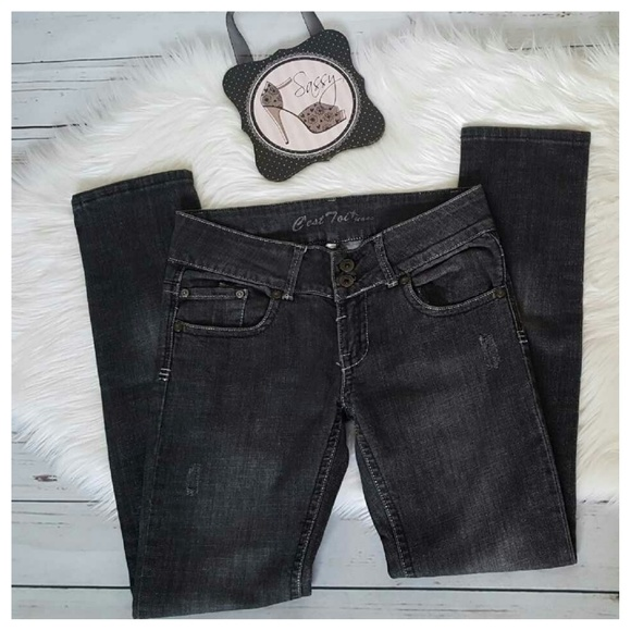 610e9ee48b C est Ca New York Denim - ❤ C est Toi Distressed Black